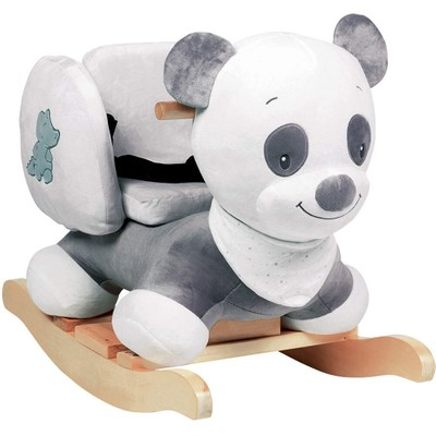 Excellent Panda Bear Plush Timber Rocking Rocker Chair Toy Ride On For Toddler Kids Baby Gmtry Best Dining Table And Chair Ideas Images Gmtryco
