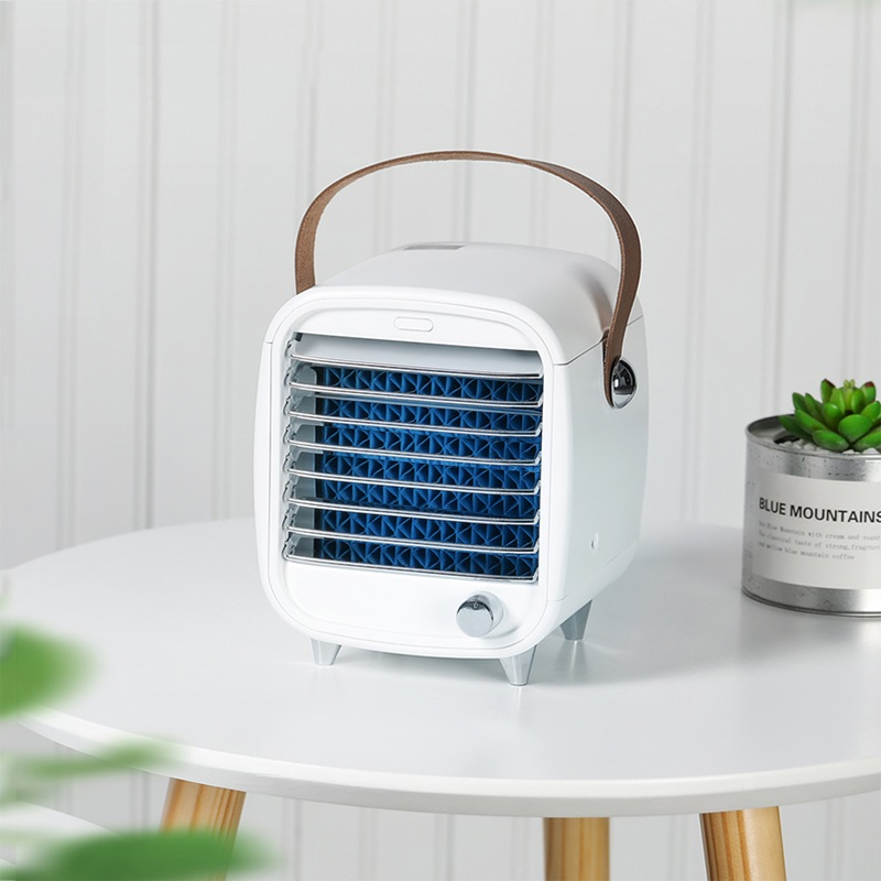 Catzon Icy Cooler Fan Air Conditioner Humidifier With LED Light For Desk