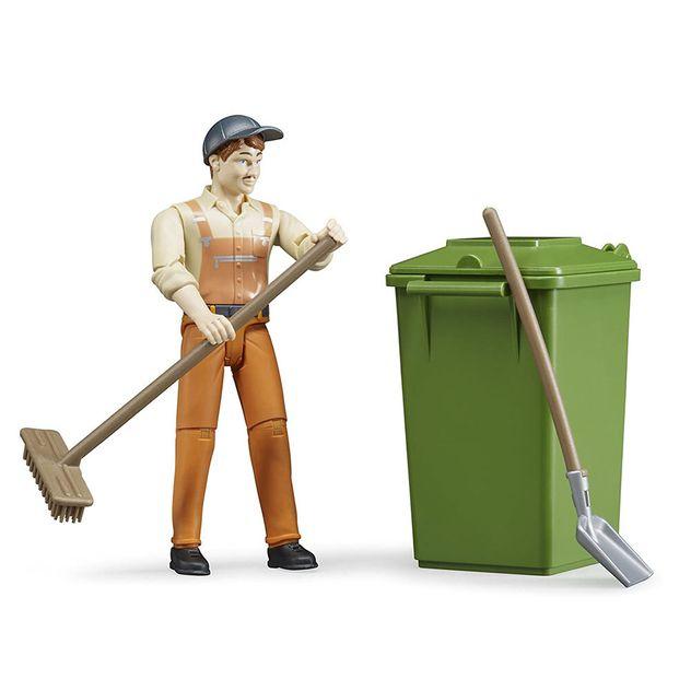 Garbage online play trash card