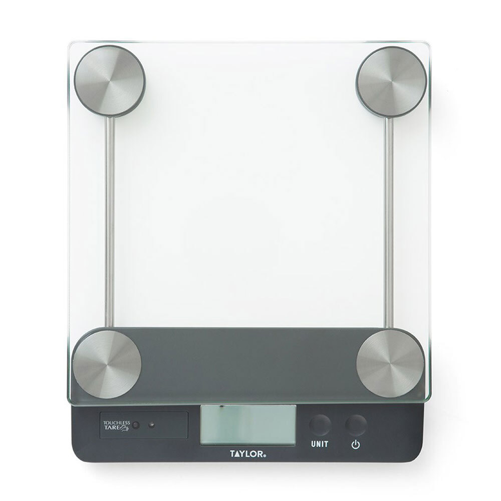 Taylor Touchless Tare 13.6kg LCD Kitchen Scale