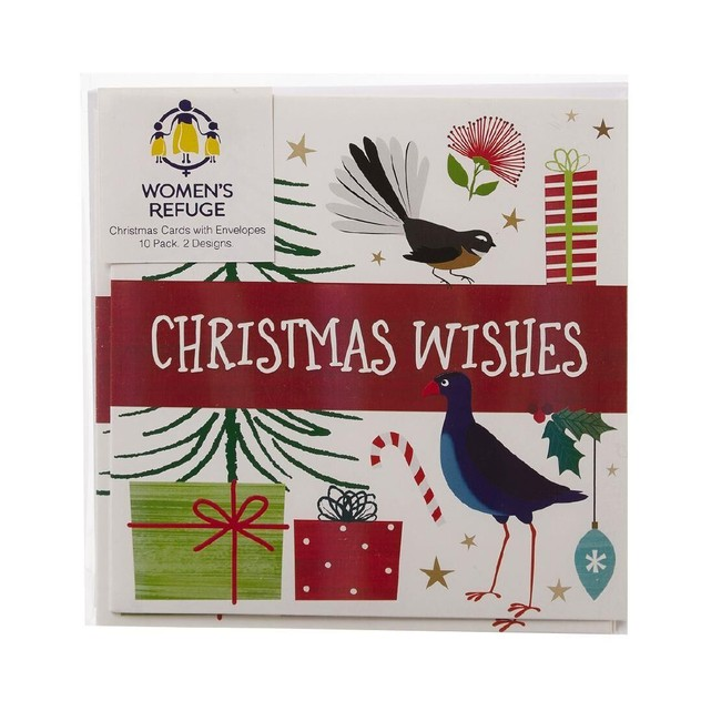 women's refuge charity christmas cards seasons wishes 10