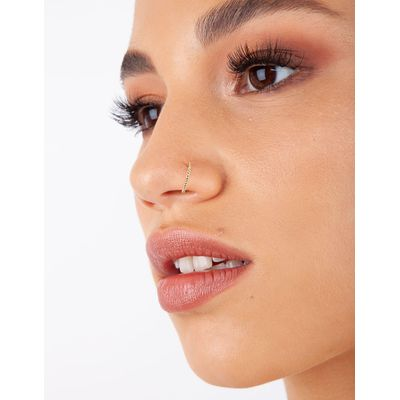 Lovisa Gold Lip Ear And Nose Fake Hoop Pack Lovisa Online Themarket New Zealand