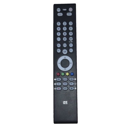 Universal Television TV & Satellite Remote Control One for All Controller