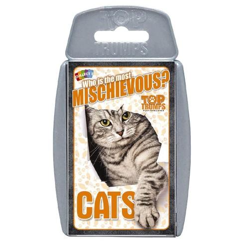 Cats Top Trumps Game