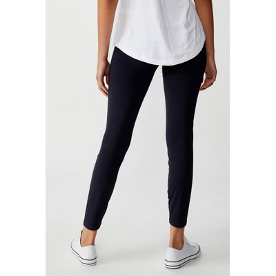 Cotton On High Waisted Dylan Legging Blue Cotton On Online Themarket New Zealand
