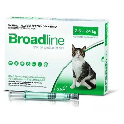 Broadline Feline Spot-On Solution (2.5kg+) 3 pack