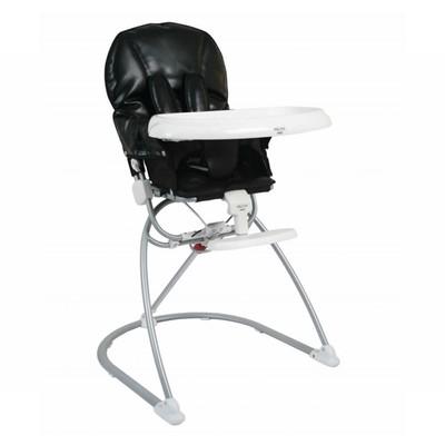 Peachy Valco Baby Genesis Foldable High Chair Toddler Baby Feeding Tray Seat 6M Black Machost Co Dining Chair Design Ideas Machostcouk