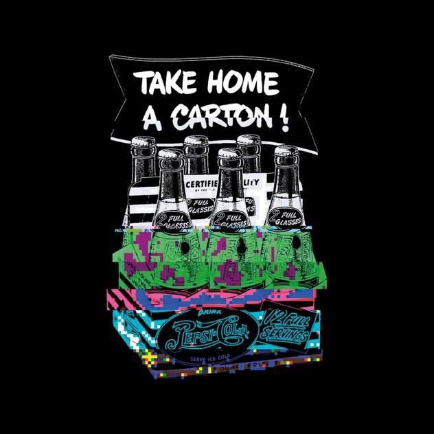 Pepsi Retro Bottle Crate Glitch Women's Vest | Pepsi Online | TheMarket New  Zealand
