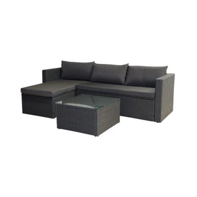 Rattan Outdoor Sofa Set Grey 1, Grey Rattan Outdoor Furniture Set