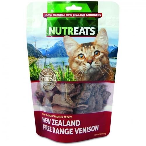 Nutreats Free Range Venison Freeze Dried Cat Treat
