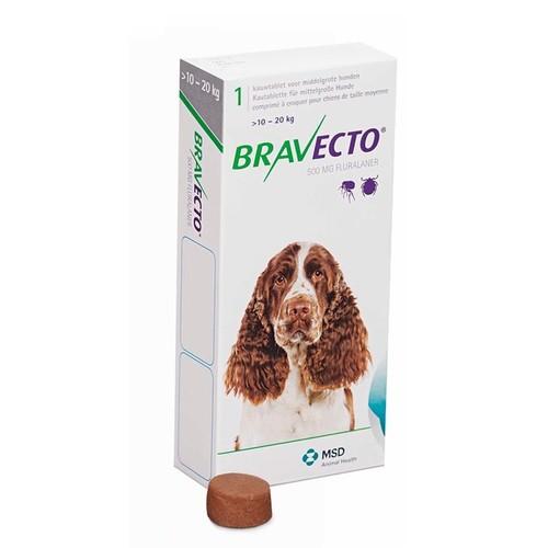 Bravecto Flea Treatment for Medium Dogs (10-20kg)