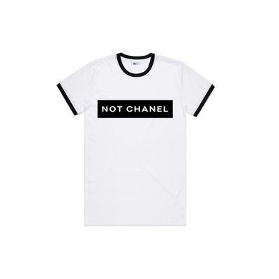 wholesale dealer 248af f4157 Vol.1 Not Chanel T Blackish & Whiteish - Unisex
