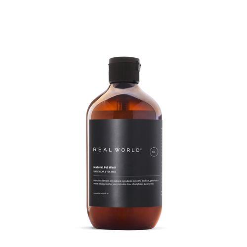 Real World Natural Pet Wash & Shampoo Sage Leaf & Tea Tree