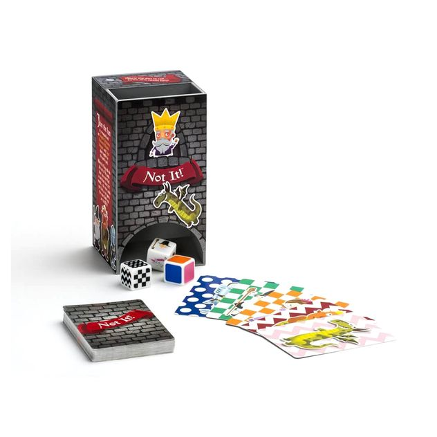 Shop The Good Game Not It Card Game Kids Fun Matching Dice Game 3 6 Players 6y Kg Electronic Online 1 Day Co Nz