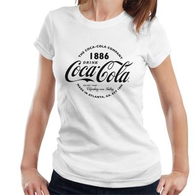 vintage coca cola logo schwarz