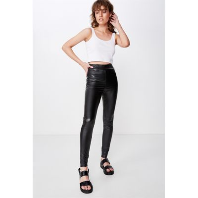Cotton On High Waisted Dylan Legging Black Cotton On Online Themarket New Zealand