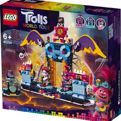 Lego Trolls World Tour Volcano Rock City Concert 41254 Lego