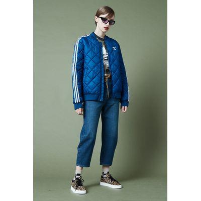 adidas sst quilted blau