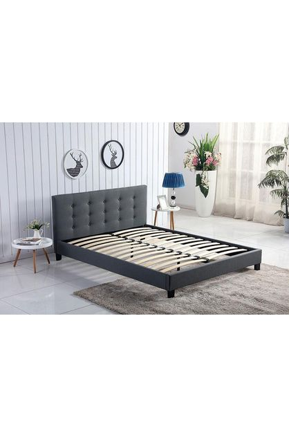 Deal Mart Double Bed Frame With, What Size Is A Double Bed Nz