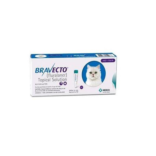 Bravecto Spot On Flea & Tick Treatment for Medium Cats (2.8 - 6.25kg)