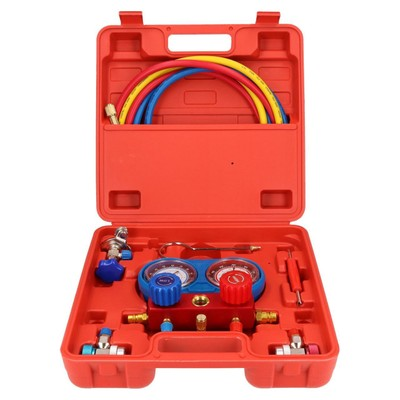 Air Conditioning Tools >> Ab Tools Ac Manifold Gauge Set Air Conditioning Diagnostic Refrigeration Set Kit Pump